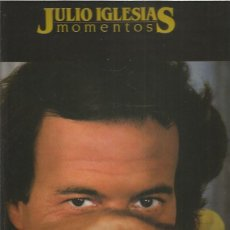 Disques de vinyle: JULIO IGLESIAS MOMENTOS. Lote 231969735