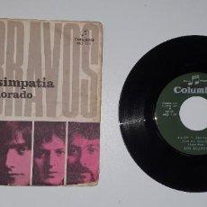 Discos de vinilo: SINGLE LOS BRAVOS -COLUMBIA 1969. Lote 231974605