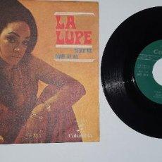 Discos de vinilo: SINGLE - LA LUPE -COLUMBIA 1969. Lote 231976865