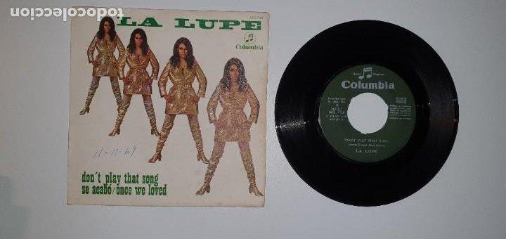 SINGLE - LA LUPE - COLUMBIA 1969 (Música - Discos - Singles Vinilo - Solistas Españoles de los 50 y 60)