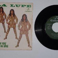 Discos de vinilo: SINGLE - LA LUPE - COLUMBIA 1969. Lote 231978050