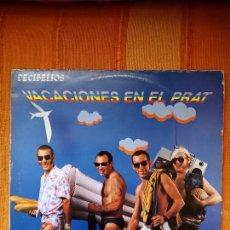 Disques de vinyle: LP DECIBELIOS. VACACIONES EN EL PRAT, 1986.. Lote 231986920