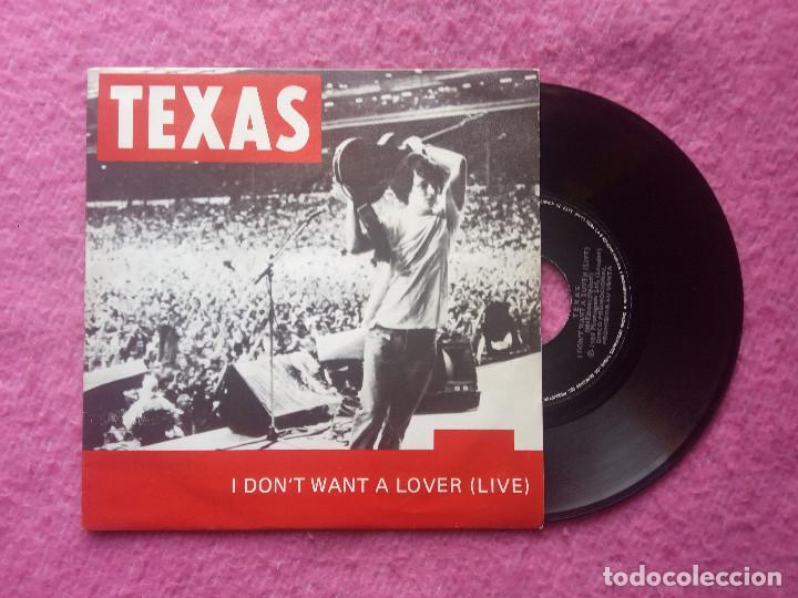 SINGLE TEXAS - I DON'T WANT A LOVER (LIVE) - SPAIN PRESS PROMO (NM/VG++) 40 PRINCIPALES (Música - Discos - Singles Vinilo - Pop - Rock Extranjero de los 90 a la actualidad)