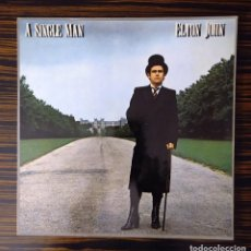 Discos de vinilo: ELTON JOHN, LP A SINGLE MAN, THE RECORD ROCKET COMPANY, 1978. Lote 232005330