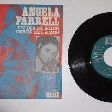 Disques de vinyle: SINGLE - ANGELA FARRELL EUROVISION 71 IRLANDA - DECCA. COLUMBIA 1971. Lote 232012145