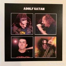 Discos de vinilo: ADOLF SATAN - ADOLF SATAN - LP [LIMITED APPEAL, 2020 · #132/287] SLUDGE METAL HARDCORE. Lote 232024120