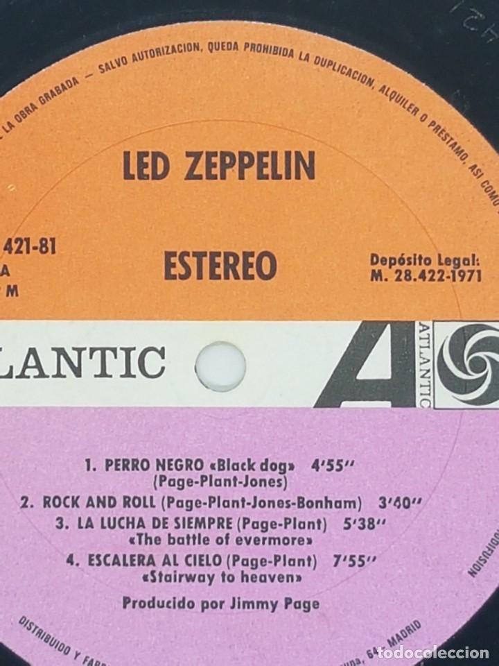 LED ZEPPELIN ZOSO AÑO 1971 OJO EDICION ESPAÑOLA!!!! (Música - Discos - LP Vinilo - Bandas Sonoras y Música de Actores )