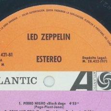 Discos de vinilo: LED ZEPPELIN ZOSO AÑO 1971 OJO EDICION ESPAÑOLA!!!!. Lote 232025955