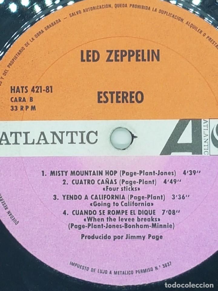 Discos de vinilo: LED ZEPPELIN ZOSO AÑO 1971 OJO EDICION ESPAÑOLA!!!! - Foto 2 - 232025955