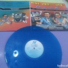 Discos de vinilo: LP.DISC JOCKEY MIX.LET 'S GO TO THE MIX.1986. EL 1ER MEGAMIX EN COLOR - JAVIER USSIA/MIKE PLATINAS.. Lote 232027605