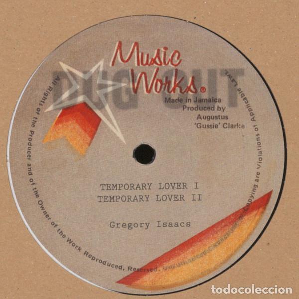 GREGORY ISAACS - TEMPORARY LOVER - 12'' [DUG OUT, 2016] LOVERS ROCK DANCEHALL (Música - Discos - Singles Vinilo - Reggae - Ska)