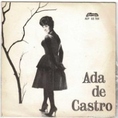 Discos de vinilo: ADA DE CASTRO - CHEGOU O FADO + 3. EP. Lote 232033505