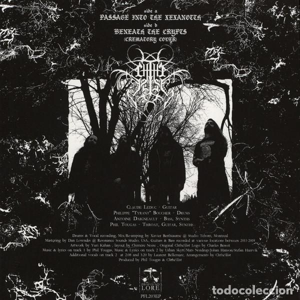 Discos de vinilo: Chtheilist - Passage Into The Xexanotth - 7 [Profound Lore Records, 2018 · Lim. 300] Death Metal - Foto 2 - 232037615