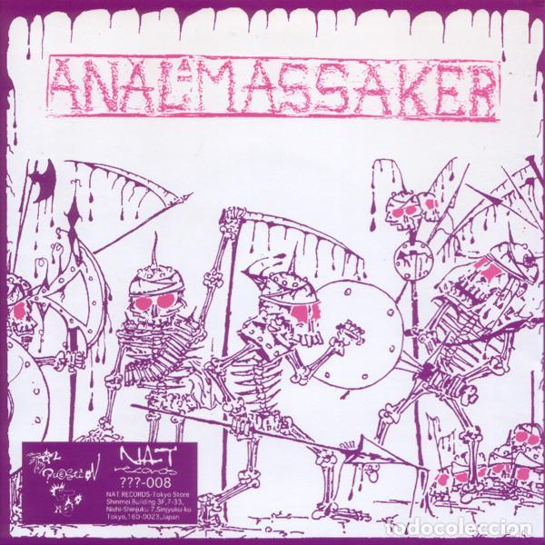 Discos de vinilo: Niku Do Rei / AnalMassaker - Split - 7 [NAT Records, 1998] Noisecore Grindcore - Foto 2 - 232039835