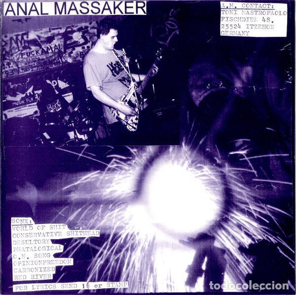 Discos de vinilo: Niku Do Rei / AnalMassaker - Split - 7 [NAT Records, 1998] Noisecore Grindcore - Foto 4 - 232039835
