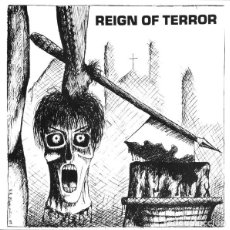 Discos de vinilo: REIGN OF TERROR - DON'T BLAME ME - 7'' [RADIO RAHEEM / MEAT HOUSE PRODUCTIONS, 2018 · LIM. 600]. Lote 232040845