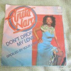 """Discos de vinilo: ANITA WARD - DON´T DROP MY LOVE - SINGLE 7"""" 45 RPM T.K.RECORDS TKR 7561 EDITADO EN PORTUGAL. Lote 232041005"""