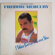 Discos de vinilo: FREDDY MERCURY - I WAS BORN TO LOVE YOU (VINILO MAXI-SINGLE - 1985). Lote 232046105