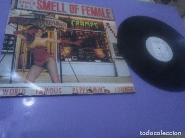 JOYA LP. ORIGINAL 1983. THE CRAMPS. SMELL OF FEMALE UK( NO COMPRAR RESERVADO CARLOS ). (Música - Discos - LP Vinilo - Punk - Hard Core)
