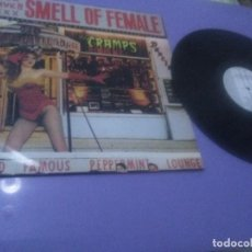 Disques de vinyle: JOYA LP. ORIGINAL 1983. THE CRAMPS. SMELL OF FEMALE UK( NO COMPRAR RESERVADO CARLOS ).. Lote 232057810