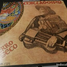 Discos de vinilo: LP - MILLADOIRO. O BERRO SECO.. MUSICA FOLK GALICIA BUEN ESTADO PORTADA ABIERTA. Lote 232077860
