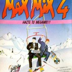 Discos de vinilo: VINILO - 1994 - VARIOS - MAX MIX 4. Lote 232088420
