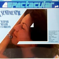 Disques de vinyle: VINILO - 1987 - WERNER MULLER Y SU ORQUESTA - SENTIMENTAL. Lote 232088545