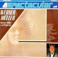 Disques de vinyle: VINILO - 1987 - WERNER MULLER Y SU ORQUESTA - WERNER MLLER. Lote 232088580