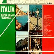 Disques de vinyle: VINILO - 1982 - WERNER MÜLLER Y SU ORQUESTA - ITALIA. Lote 232089035