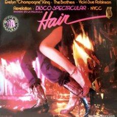 Disques de vinyle: VINILO - 1979 - VARIOS - HAIR BSO. Lote 232089475