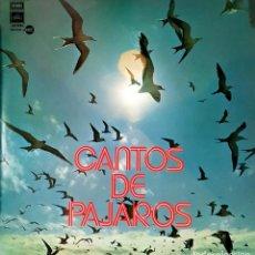 Disques de vinyle: VINILO - 1978 - VARIOS - CANTOS DE PÁJAROS. Lote 232089735