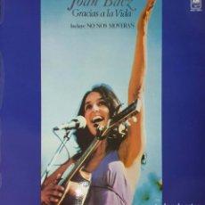 Disques de vinyle: VINILO - 1977 - JOAN BAEZ - GRACIAS A LA VIDA. Lote 232090100