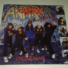 Discos de vinilo: LP ANTHRAX - ´M THE MAN. Lote 232090645