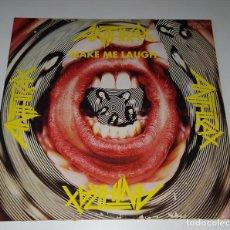 Discos de vinilo: LP ANTHRAX -MAKE ME LAUGH. Lote 232091010