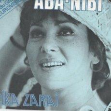 Discos de vinilo: 45 GIRI RIKA ZARAI FRENC VERSION ABA-NIBI EUROVISION 1978 PHILIPS FRANCE. Lote 232093045