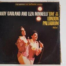 """Discos de vinilo: JUDY GARLAND AND LIZA MINNELLI - """"LIVE"""" AT THE LONDON PALLADIUM (VINILO). Lote 232107720"""