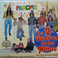 Disques de vinyle: PARCHIS - LA 2ª GUERRA DE LOS NIÑOS (LP BELTER 1981) COMO NUEVO. Lote 232123790