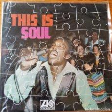 Discos de vinilo: ATLANTIC THIS IS SOUL LP: WILSON PICKETT, OTIS REDDING, ARETHA FRANKLIN, PERCY SLEDGE, SAM & DAVE.... Lote 232149860