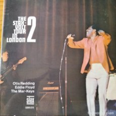Discos de vinilo: THE STAX VOLT TOUR IN LONDON LP 1967: THE MAR-KEYS, EDDIE FLOYD & OTIS REDDING.. Lote 232150875