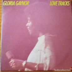 Disques de vinyle: GLORIA GAYNOR - LOVE TRACKS - LP 1978. Lote 232152500