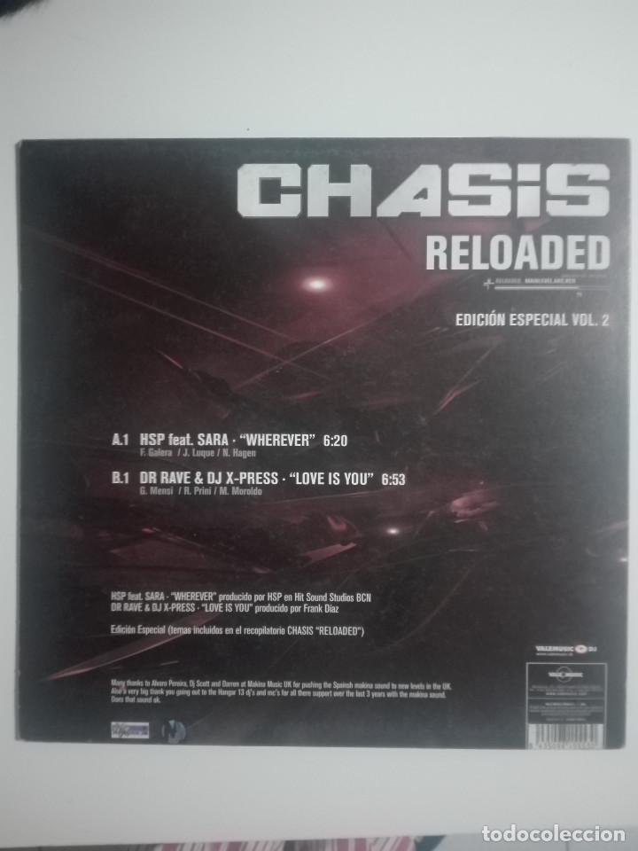 Discos de vinilo: LP DISCO VINILO CHASIS RELOADED EDICIÓN ESPECIAL VOL 2 - 2003 - UNICO EN TC - 250g - Foto 3 - 232169400