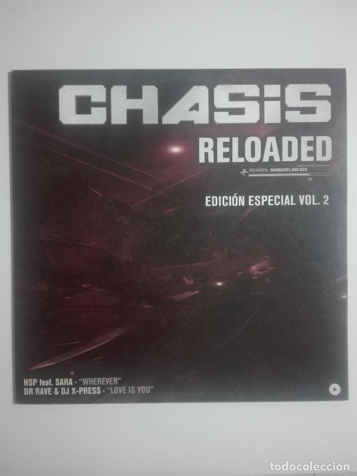 LP DISCO VINILO CHASIS RELOADED EDICIÓN ESPECIAL VOL 2 - 2003 - UNICO EN TC - 250G (Música - Discos - LP Vinilo - Otros estilos)
