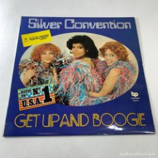 Discos de vinilo: LP SILVER CONVENTION - GET UP AND BOOGE. Lote 232196890