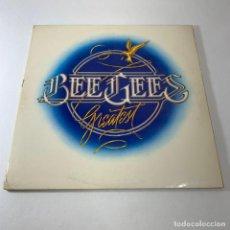 Discos de vinilo: LP BEEGEES - GREATEST. Lote 232198475