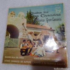 Discos de vinilo: GRUPO FOLKLORICO GRAN CANARIA - MADRE MIA DEL PINO + 3. Lote 232198995