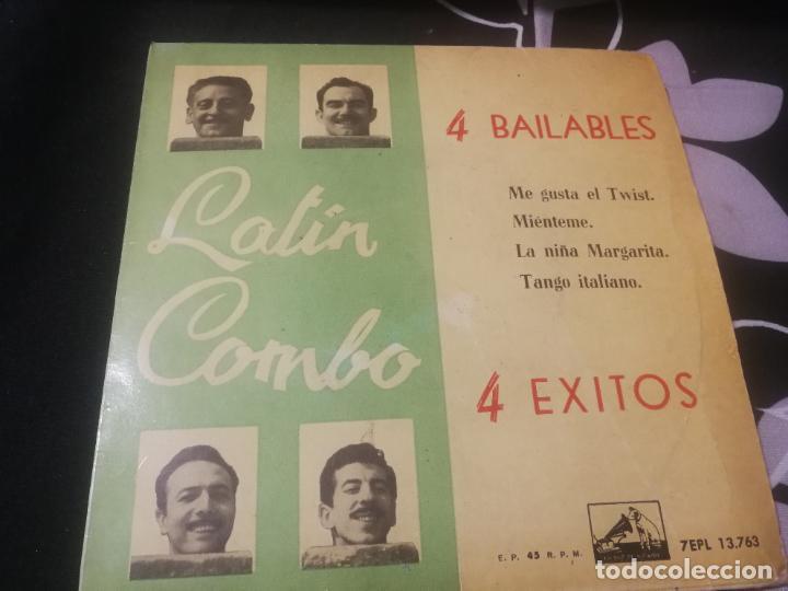 EP LATIN COMBO / 4 BAILABLES / ME GUSTA EL TWIST/MIENTEME/LA NIÑA MARGARITA/TANGO (Música - Discos de Vinilo - EPs - Pop - Rock Internacional de los 50 y 60)