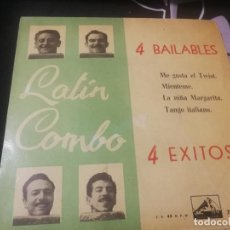 Discos de vinilo: EP LATIN COMBO / 4 BAILABLES / ME GUSTA EL TWIST/MIENTEME/LA NIÑA MARGARITA/TANGO. Lote 232202825