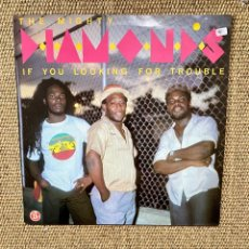 Discos de vinil: MIGHTY DIAMONDS IF YOURE LOOKING FOR TROUBLE. Lote 232203375