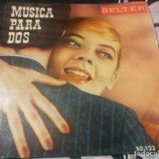 Discos de vinilo: MUSICA PARA DOS (VOL III) HERBERT REHBEIN Y ORQUESTA, ED JOHNSON Y CONJUNTO Y NANCY SCOTT CORO. Lote 232208040