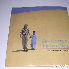 Discos de vinilo: YANN ANDERSON - SONG FOR NADIM (ENGLISH AND FRENCH VERSION). Lote 232208450